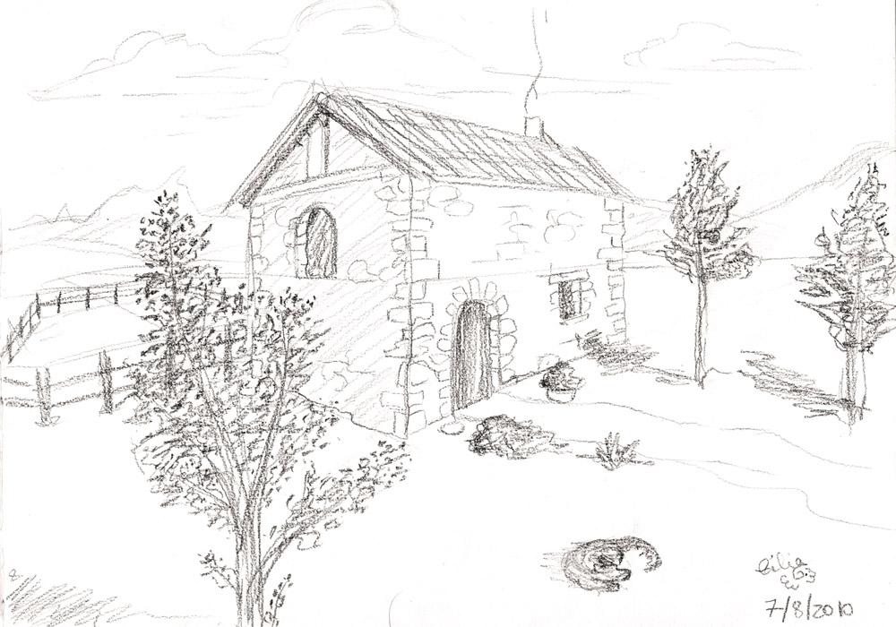 Celiangel images maison de campagne - Dessin maison de campagne ...
