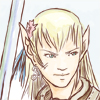 Elfe avec une épée démesurée
