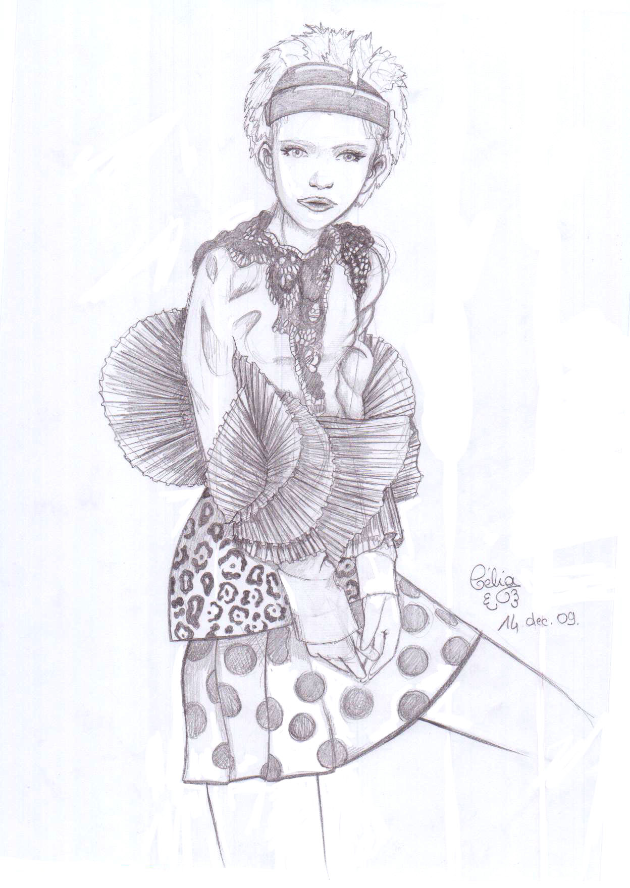 Mode dessin - Dessin de fille de mode ...