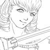 La fille aux sabres